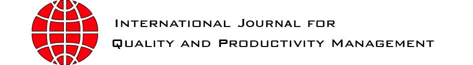 International Journal for Quality and Productivity Mangement